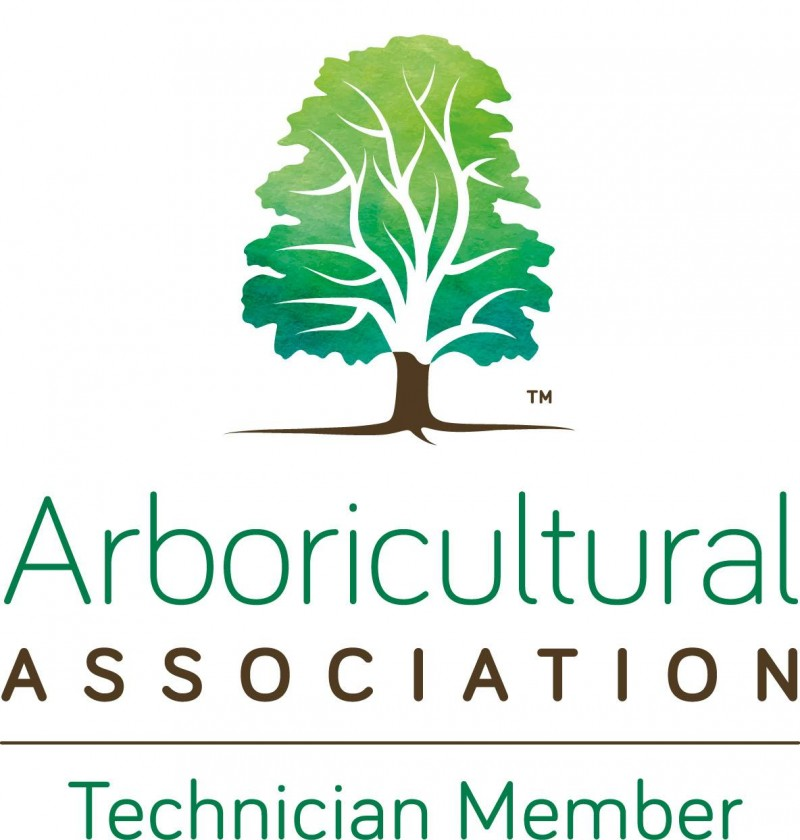 Arboricultural Association Technician Member No. TE04008